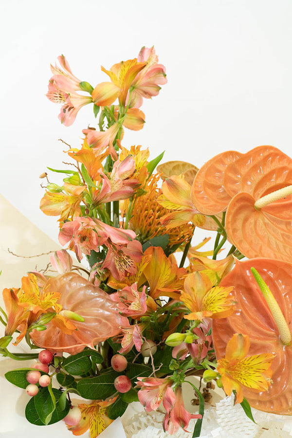 Warm Flowers Bouquet Singapore Delivery