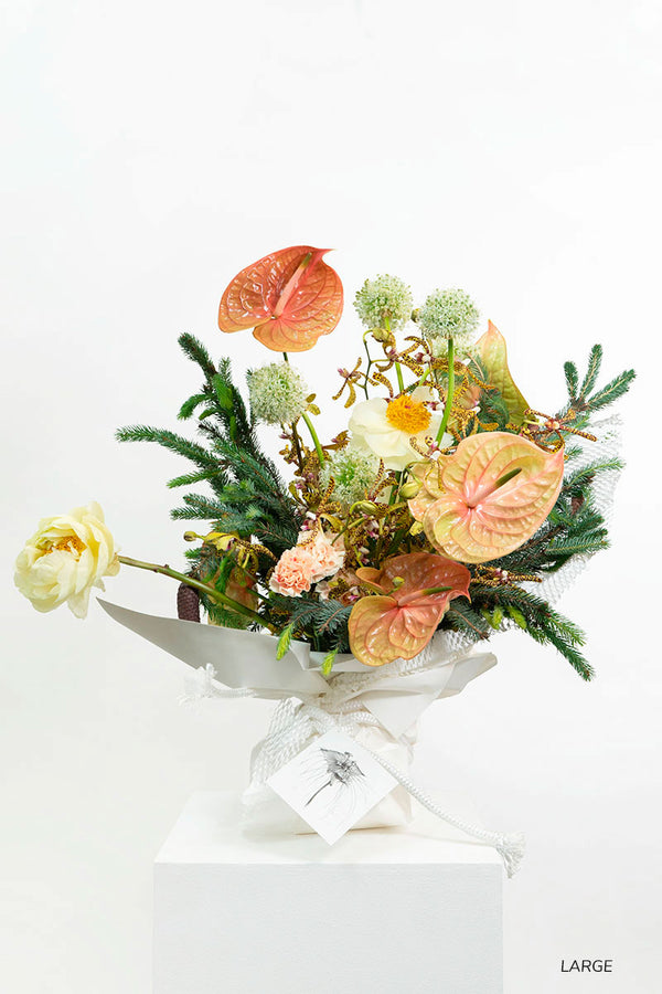 Garden Flowers Bouquet Singapore Delivery Sustainable