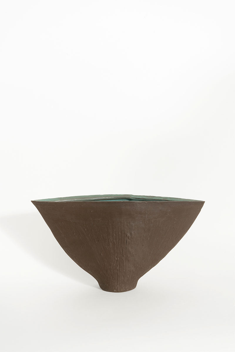 Tapered Flat Vase