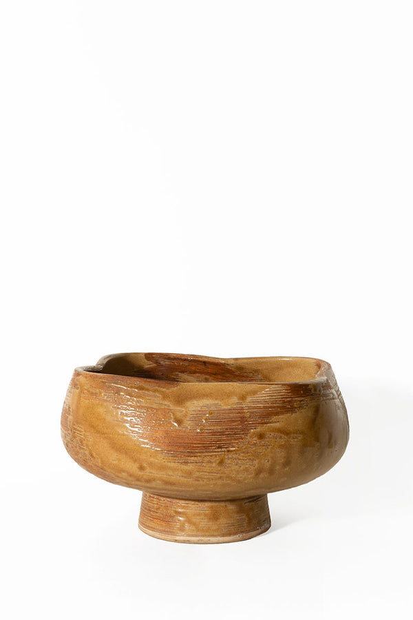 Pinched Footed Bowl