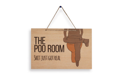 The Poo Room, Shit Just Got Real