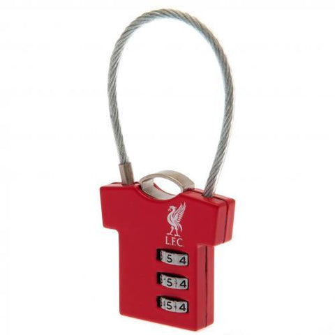 Liverpool FC Combination Padlock
