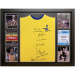 Arsenal FC 1971 Double Winners Signed Shirt (Framed)