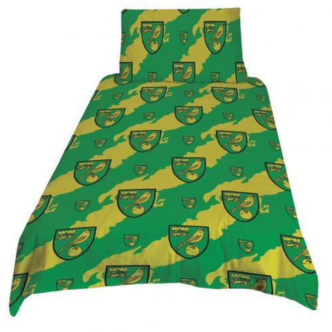 Norwich City FC Single Duvet Set