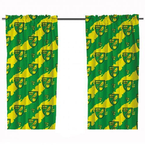 Norwich City FC Curtains