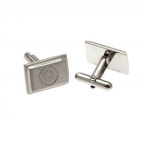 Leicester City FC Stainless Steel Cufflinks