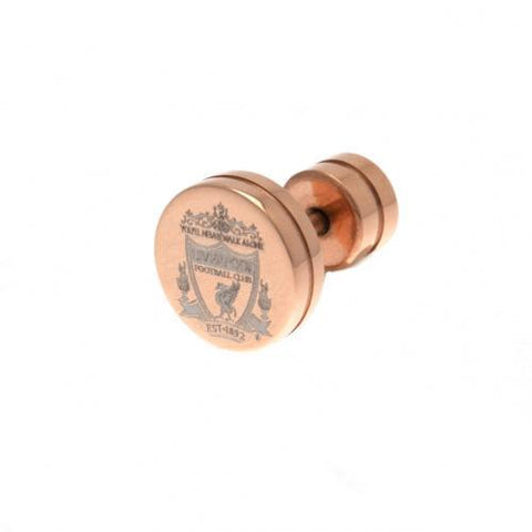 Liverpool FC Rose Gold Plated Earring