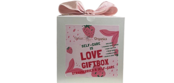 Strawberries & Self-Care Gift Set