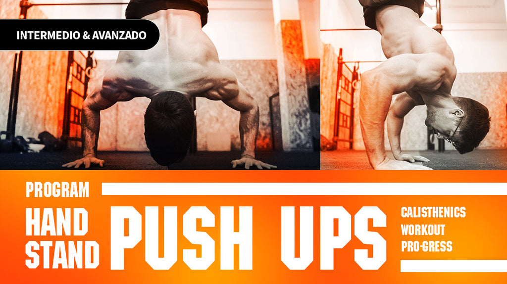 HANDSTAND PUSH UPS WORKOUT