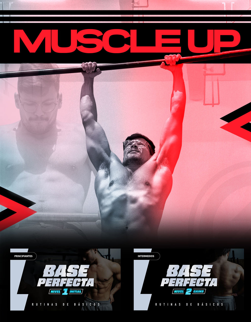 MUSCLE UP PACK - Workout Programs