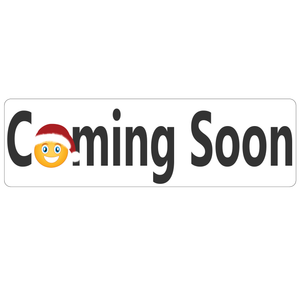 Coming Soon Real Estate Rider Sign Holiday Edition