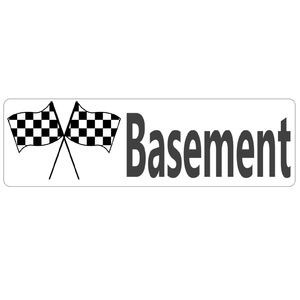 Finished Basement Real Estate Sign Rider