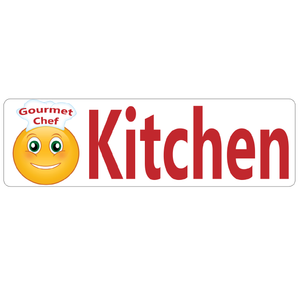 Gourmet Chef Kitchen Real Estate Sign Rider