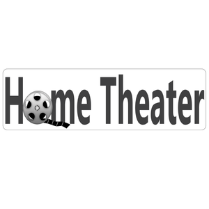 Home Theater Real Estate Sign Rider