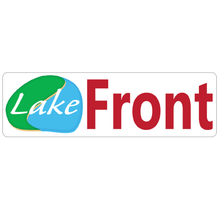 Load image into Gallery viewer, Lake Front Inside Real Estate Sign Rider