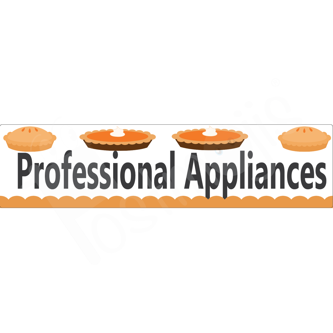 Professional Appliances Real Estate Rider Fall Collection