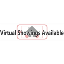 Load image into Gallery viewer, Virtual Showings Real Estate Sign Rider