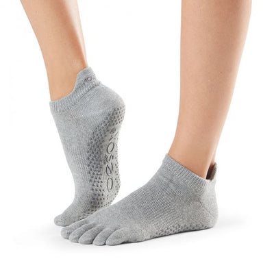 ToeSox Low Rise in Heather Grey - Ebru Evrim