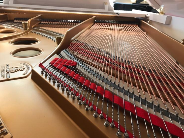 Steinway & Sons O-180 Wit 2