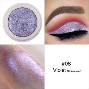 12 Colors Mixed Colors Powder Pigment Glitter Mineral Spangle Eyeshadow Makeup Cosmetics Set Make Up Shimmer Shining Eye Shadow
