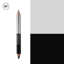 Load image into Gallery viewer, 12 Colors Highlighter Glitter Eyeshadow Eyeliner Pen makeup durable Waterproof  sweatproof Double-Ended Eyes Pencil Makeup