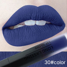 Load image into Gallery viewer, 30 color matte liquid lipstick waterproof long lasting plump makeup matte lipstick matte lip gloss lip makeup