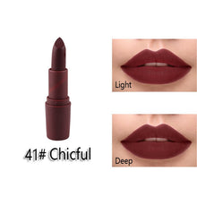 Load image into Gallery viewer, Miss Rose Matte Lipstick maquillage Mate Batom Makeup Waterproof Lip stick for Lips Makeup Cosmetics Korean Tint Tattoo