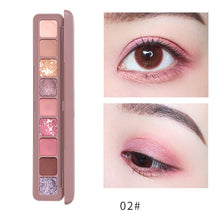 Load image into Gallery viewer, Fashion Eyeshadow Pallete Glitter Eye Shadow Pearl light Flash Film Brilliant Waterproof Highlight Flash Powder Lying Silkworm