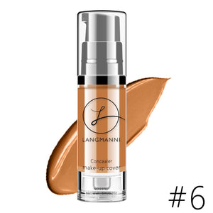 Hot 6 Colors Face Concealer Cream Beauty Full Cover Contouring Makeup Waterproof Hide Blemish Foundation Base Primer Cosmetic