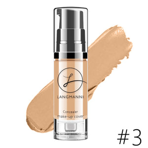 New 6 Colors Face Concealer Cream Beauty Full Cover Contouring Makeup Waterproof Hide Blemish Foundation Base Primer Cosmetic