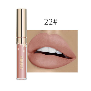 24 Color Lipsticks Matte Waterproof Red Lip Gloss Mate Makeup Long Lasting Nude Brown Women Lips Liquid Lipstick lápiz labial