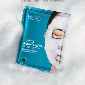 1pcs Original Korean Skin Care Moisture Face Bubble Mask Facial Mask Amino Acid 25g Whitening Deep Purifying Charcoal O2