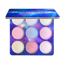 Load image into Gallery viewer, TSMC 9 Colors Glitter Eyeshadow Makeup Pallete Shimmer and Shine Diamond Eye Shadow Highlight Powder Palette Cosmetics drop ship