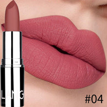 Load image into Gallery viewer, Hot Matte Velvet Lipstick Women Waterproof Lasting Sexy Red Batom Makeup Moisturizer Matte Lip Stick Cosmetics for Beauty Lips