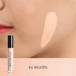 FOCALLURE Matte Liquid Foundation Concealer Full Cover Blemish Freckle Acne Pores Face Base Makeup Concealer Cosmetis 7 Colors