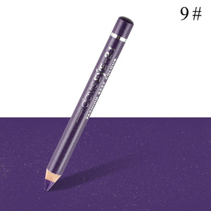 1pc Eyeliner Pen Highlighter Waterproof Eyeshadow Pencil Cosmetic Glitter EyeShadow Pen Cosmetic Glitter Eye Shadow