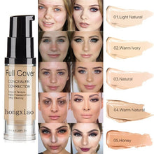 Load image into Gallery viewer, Natural Make Up Base Cosmetic Full Cover 8 Colors Concealer Makeup 6ml Eye Dark Circles Cream Face Corrector Waterproof