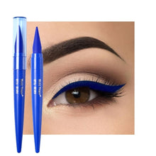Load image into Gallery viewer, 1pc Waterproof Eyeliner Black/Blue/Brown Matte Quick Drying Smudge-proof Eyeliner Pencil Long lasting Eye Makeup Beauty Tools