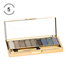 Load image into Gallery viewer, 9 Colors Professional Eye Shadow Smoky Eyeshadow Palette Maquillage Long Lasting Waterproof Diamond Bright Eye Makeup