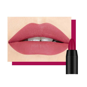 19 Colors Matte Lipstick Pencil Lips Make up Kiss Proof Batom Pen Makeup Waterproof Matt Lip Stick Lip Balm Pens