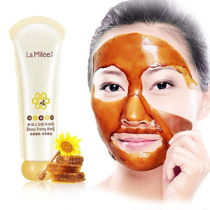Peel-Off Dead Skin Clean Pores Shrink  Mask Honey tearing mask Peel Mask oil control painless Blackhead Remover Facial Care