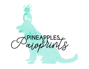Pineapples and Pawprints