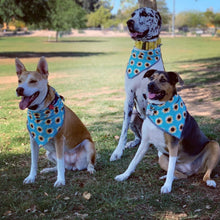 Load image into Gallery viewer, Sunflower Dog Bandana