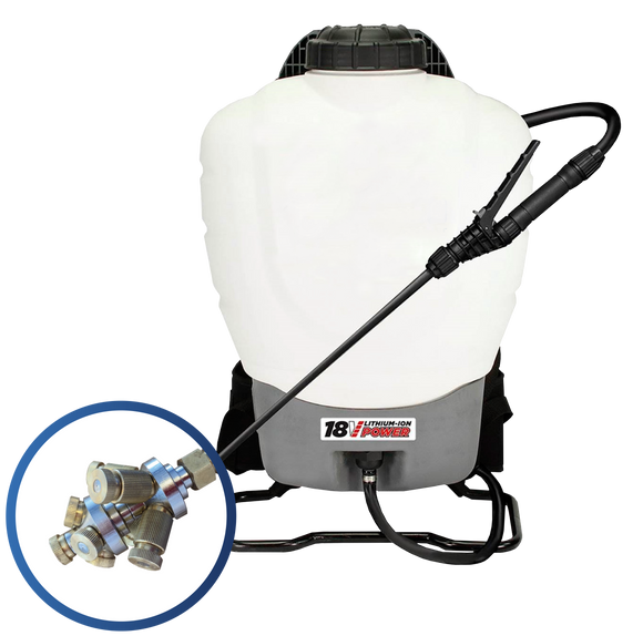 4 Gallon 18v Backpack Mister