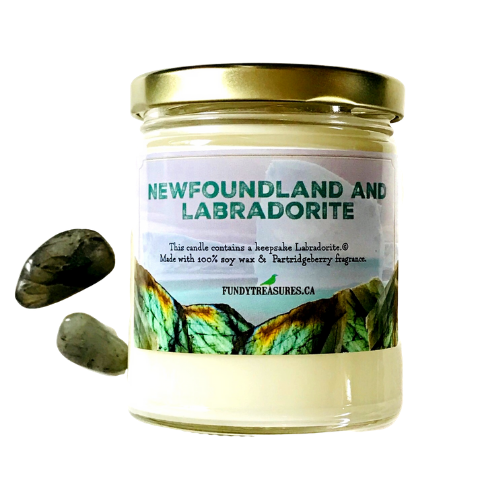 Newfoundland and Labradorite Candle 3.5 oz & 7.5 oz
