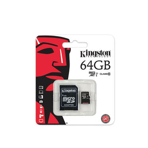Kingston Micro SD Card Class 10 64GB