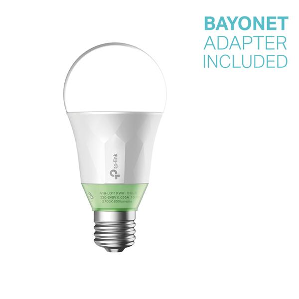 TP-Link Wi-Fi LED Bulb with Dimmable Light