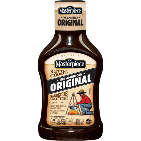 KC MASTERPIECE THE AMERICAN ORIGINAL BARBECUE SAUCE 510G