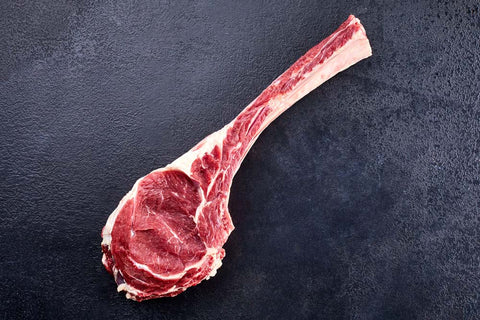100 DAY GRAIN FED BEEF TOMAHAWK