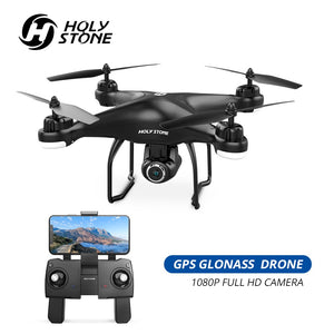 Holy Stone HS120D GPS Drone FPV 1080p HD Camera Profissional Wifi RC Drones Selfie Follow Me Quadcopter GPS Glonass Quadrocopter